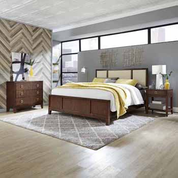 King Bed, Night Stand & Chest
