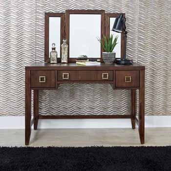 Vanity & Mirror Front View