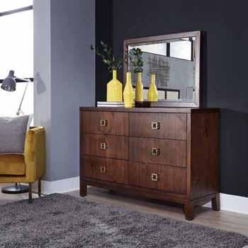 Dresser with Mirror Angular View