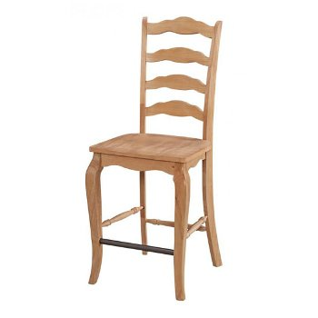 "Home Styles Counrty Lodge Counter Stool in Pine, 18-1/2"" W x 22-1/4"" D x 46-1/4"" H"