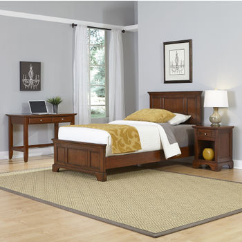 Two Twin Beds and Night Stand