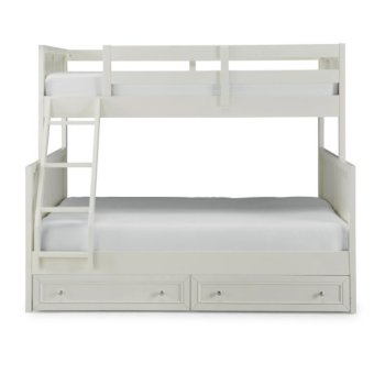 Full Bunk Bed w/ Storage Drawers Front View