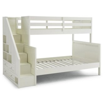 Full Bunk Bed w/ Steps Angle View