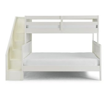 Full Bunk Bed w/ Steps Front View