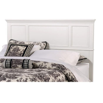 Home Styles Naples White King Headboard, 80-3/4'' W x 2-1/2'' D x 52'' H