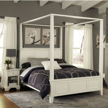 Naples Canopy Bed Set