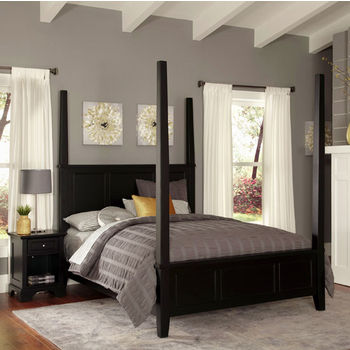 Poster Bed w/ Night Stand