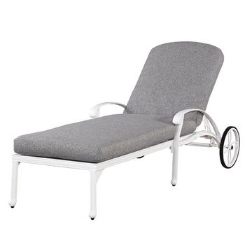 Floral Blossom Chaise Lounge Chair