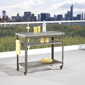 Urban Style Collection 48 39 39 Kitchen Cart With Multiple