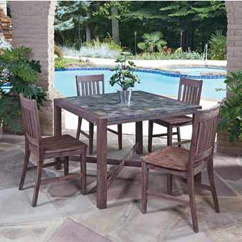 Table w/ (4) Side Chairs