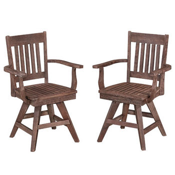 Swivel Arm Chairs