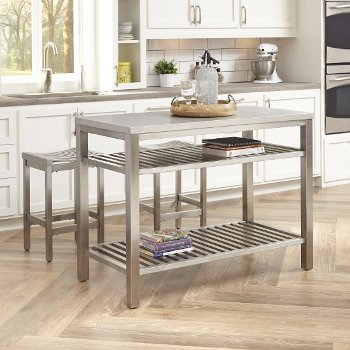 Stainless Steel Kitchen Work Tables from John Boos, Danver ...