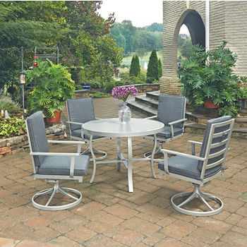 "48"" Diameter, 4 Swivel Chairs, Without Umbrella"