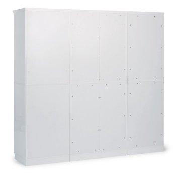 Storage 3-Piece Wall Unit Side View