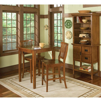 Pub tables stool sets for the bar game room or kitchen at great home styles arts crafts bistro table 2 stools workwithnaturefo