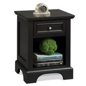 Ebony Bedford Night Stand by Home Styles