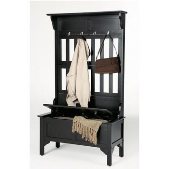 Hall Tree & Storage Bench