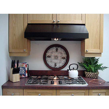 """Imperial Select 10"""" 1900 Series Cabinet Mount Range Hoods w/Baffle Filters and Duct Boosters, 765 CFM"""