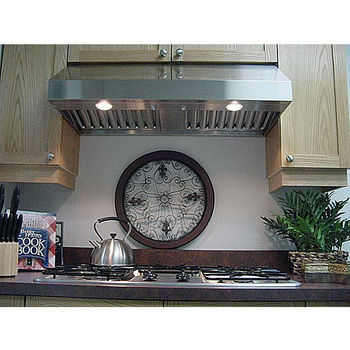 """Imperial Select 10"""" 1900 Series Cabinet Mount Range Hoods w/Baffle Filters and Duct Boosters, 650-850 CFM"""