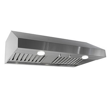"Imperial Select 10"" 1900 Series Cabinet Mount Range Hoods w/Baffle Filters and Duct Boosters, 650-850 CFM"
