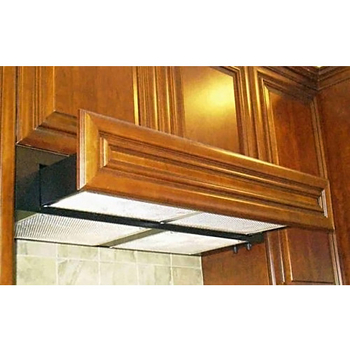 imperial flush cabinet mount slide out g3000 series range hood 360 635 cfm available in multiple finishes u0026 sizes - Ductless Range Hood