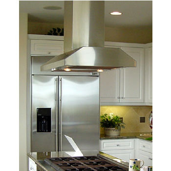 Imperial IS1900PS & IS1900BP Slim Line Series Island Mount Range Hood