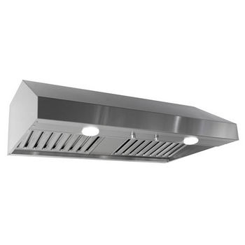 Imperial Under Cabinet Range Hood with Air Ring Fan, 400 CFM