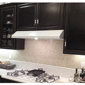 Imperial Step Slope Under Cabinet Mount Range Hood with Slim Baffle Filters
