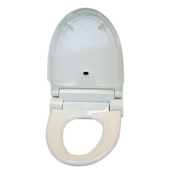 iTouchless White Elongated Touch-Free Sensor Controlled Automatic Toilet Seat