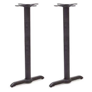 John Boos 2000 Series 2065B-40  Bar Height, Set of 2 Sled Base