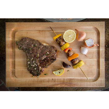 John Boos Professional Reversible BBQ Cutting Board