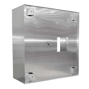 Type II Commercial Exhaust Vent Island Hood Side View