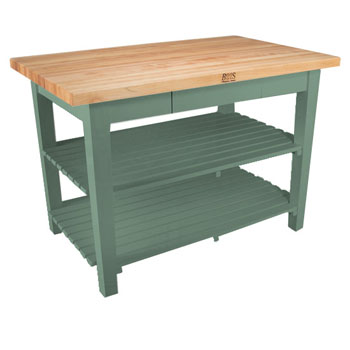 Basil Green Base, 2 Shelves