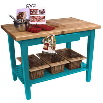Caribbean Blue Base, 1 Shelf