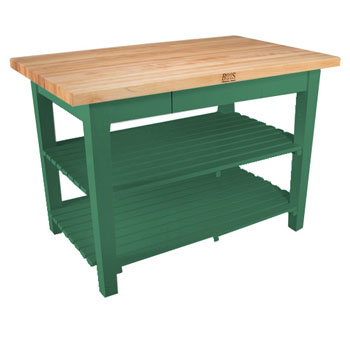Clover Green Base, 2 Shelves