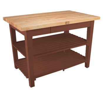 Cherry Stain Base, 2 Shelves