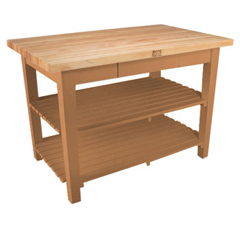 Natural Maple Base, 2 Shelves