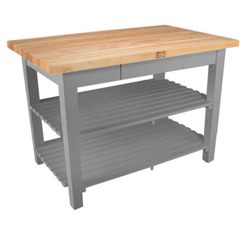 Slate Gray Base, 2 Shelves