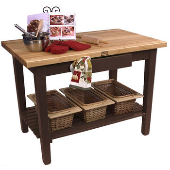 Walnut Stain Base, 1 Shelf