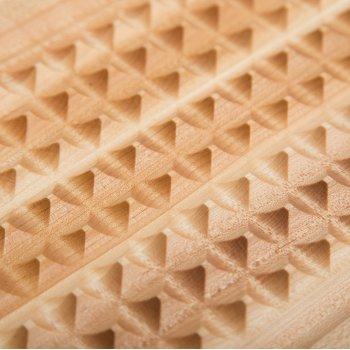 Pyramid Design Close Up View
