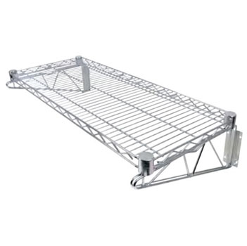 John Boos Wire Shelf with Brackets in Multiple Sizes