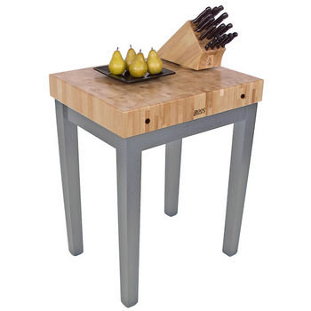 John Boos Chef Block, Slate Gray