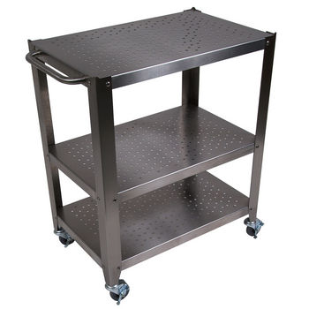 Cucina Culinarte Kitchen Cart w/Removable Maple Top by John Boos