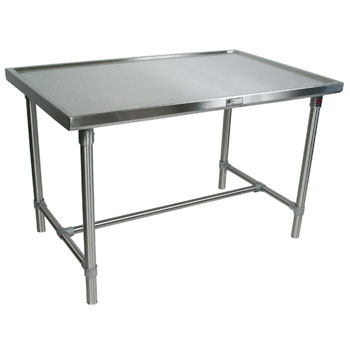 John Boos Stainless Steel Cucina Mariner Table
