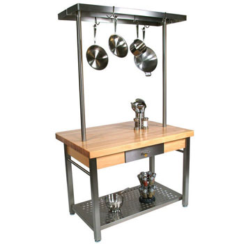 John Boos Cucina Grande Kitchen Work Table