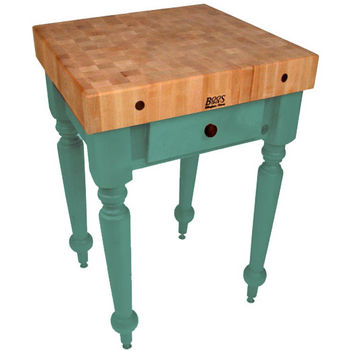 30'' Basil Green Work Table