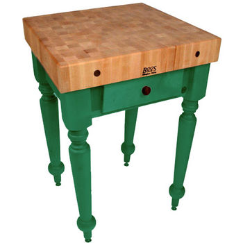 30'' Clover Green Work Table