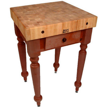 30'' Cherry Stain Work Table
