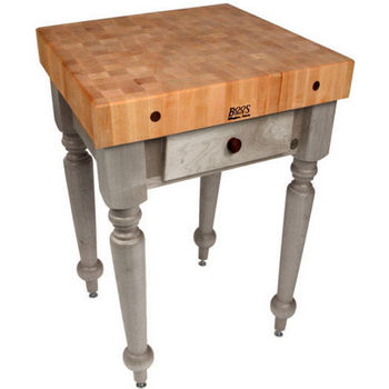 30'' Useful Gray Stain Work Table