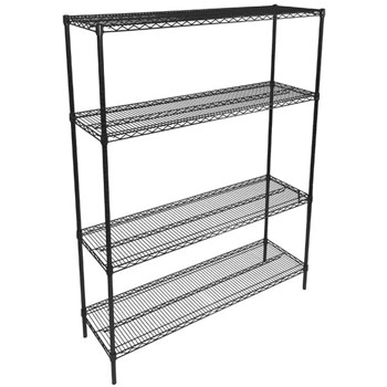 John Boos Wire Shelf Only in Multiple Sizes, Black Epoxy